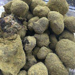 bud dipped in oil n covered in kief